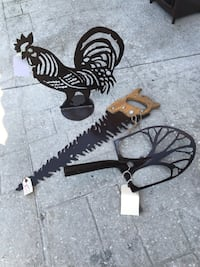 One of a kind heavy metal art - four different pieces Palm Coast, 32164