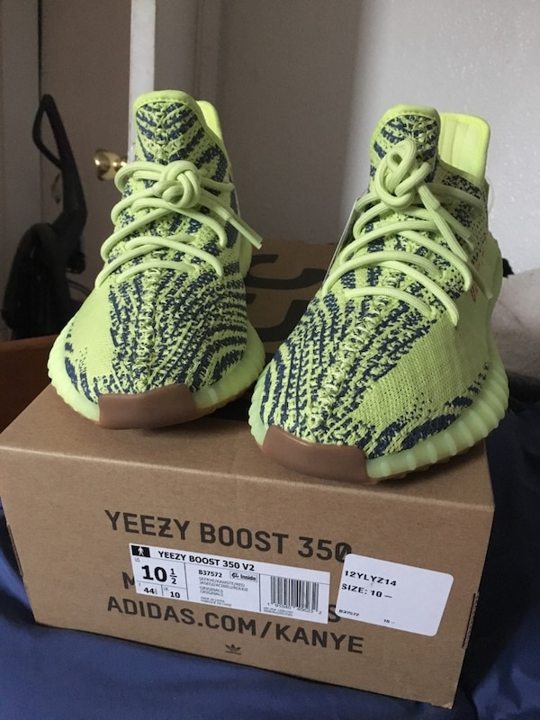 9c38149c89d8b Used Yeezy Boost 350 V2 10.5 Frozen Yellow for sale in Castro Valley ...