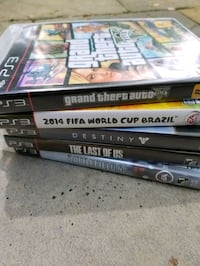 (5 ) PS3 Games Bundle or Individual Sale ($5 Each) Montclair, 22025