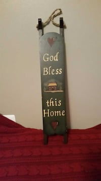 Wooden God Bless wall decor Wooster, 44691