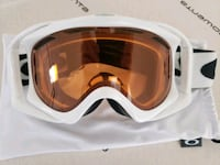 Oakley Snowboard Goggles White, with bag, almost brand new! Columbus, 43230