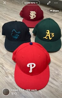 Fitted 7 1/4 -10$ each London, N5W 6E3