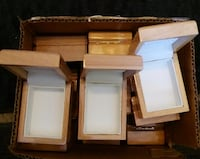 New wooden Jewerly boxes are could be used for other things Metairie