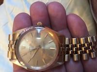 Rolex Limited addition 18 karat gold Chevy date with jubilee band. Kent, 06757
