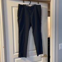 Banana Republic Navy Wool Ankle Pants Sz 14