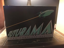 Black and green futurama the complete series and movies box set