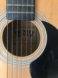 Trinity Rivers guitar. Great condition!I bought it for my teen daughter and it was never used.