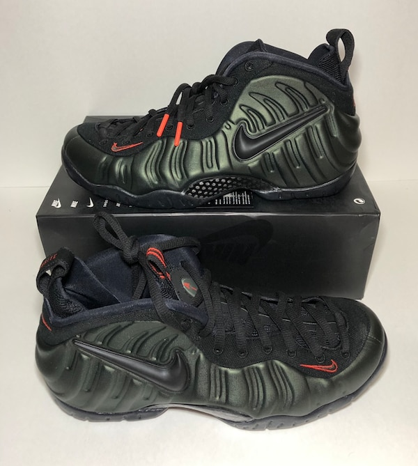 reputable site 22ab3 0b06b Nike Air Foamposite Pro Sequoia Green Men's Size 10