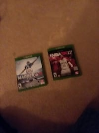 2k17 and Madden 16