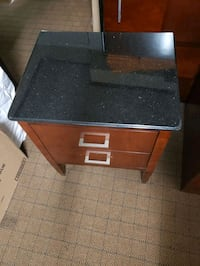 Night Table or side table with Marble top.