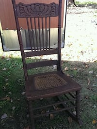 brown wooden windsor rocking chair Stoystown, 15563