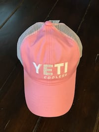 Pink and White YETI hat Bel Air, 21014