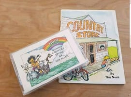 Tim Noah Country Store book and cassette