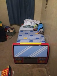 Fire truck bed for sale! Great bed for 2-4 yr. olds!