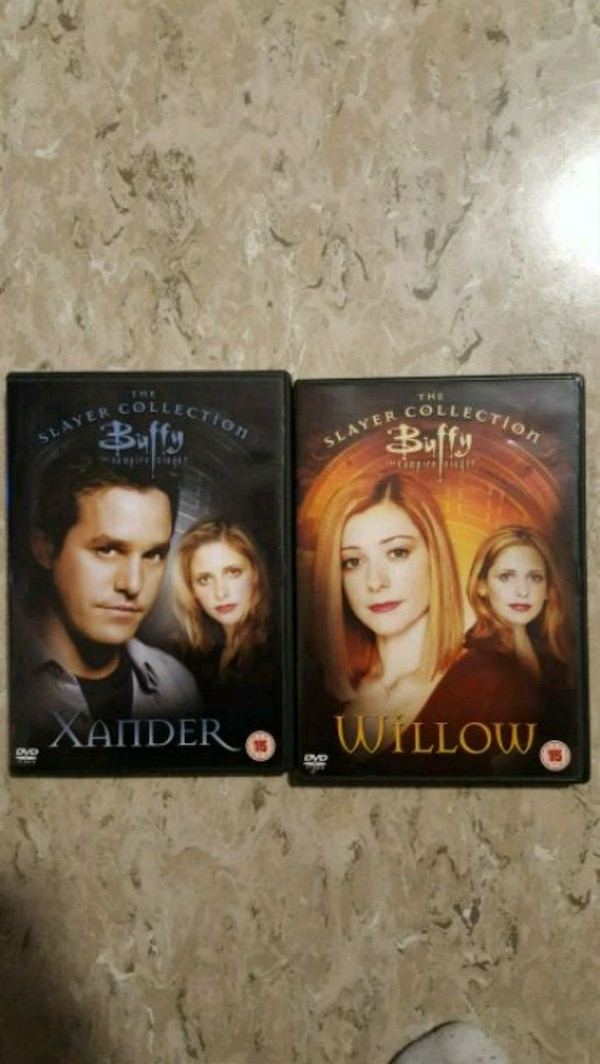 Xander and Willow episodes - Slayer collection