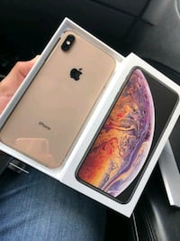 Gold Apple iPhone Xs Max 256gb New York