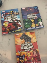 Super hero squad show dvd collection