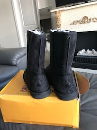 pair of black UGG boots with box Washington, 20007