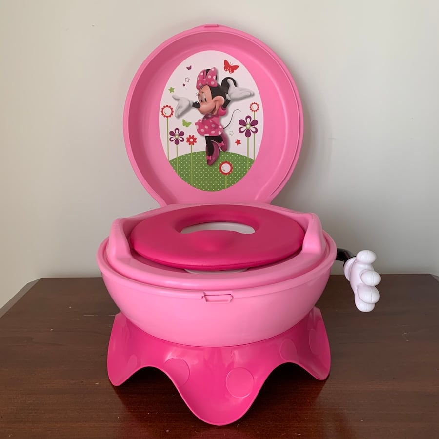 The First Years - Minnie Mouse potty training seat for girls