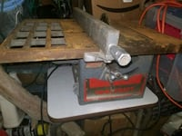 Vintage steel heavy duty toolkraft tablesaw Leominster, 01453
