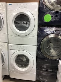 """27"""" SET WHIRLPOOL FRONT LOAD WHITE تورونتو"""