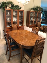 Complete Dining Room Set (Table, Chairs & China Cabinet) Washington, 20006