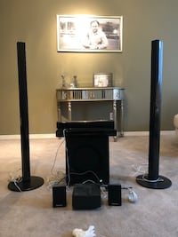 COMPLETE SURROUND SOUND BLUE-RAY/BLUETOOTH HOME THEATRE SYSTEM 543 km