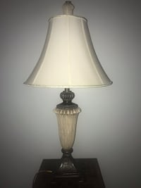 brown and white table lamp Woodbridge, 22193