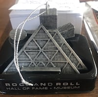 Rock and Roll hall of fame Christmas Ornament. Chicago, 60613