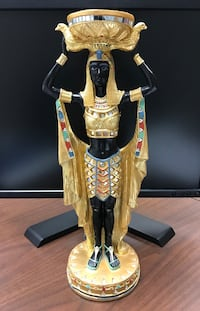 Egyptian Statue with candle holder Mercedes, 78570