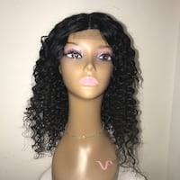 "18"" Human Hair Deep Wave (customized ) 47 km"