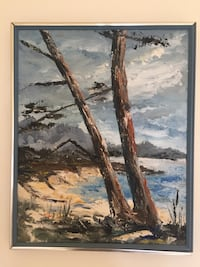 Monterey Bay Oil painting Freedom