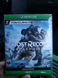 Ghost Recon Breakpoint Brand new still in wrapping for xbox one Anchorage, 99504