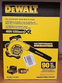 Dewalt 40v blower Houston, 77082