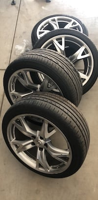 "Nissan - 370Z - 2009 19"" OEM Rays Forged rims with brand new tires Tulare, 93274"