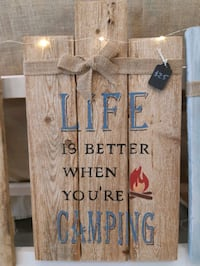 Handmade reclaimed wood sign  Innisfil, L9S 1Z7