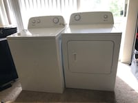 white washer and dryer set Towson