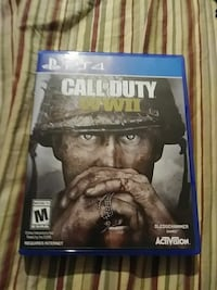 Call of Duty WWII PS4 game case