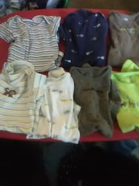 toddler's assorted clothes Osceola, 46561