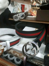 black and red Gucci belt Montreal, H3N 1S7