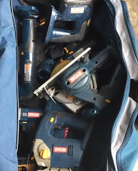 Ryobi assorted power tools