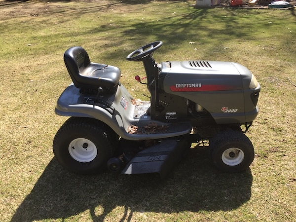 2003 craftsman lt2000 lawn rider riding mower tractor