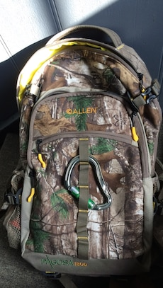 Real tree camouflage Gallen backpack