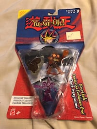 Collectible Yu-Gi-Oh action figures