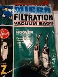 Hoover vacuum  bags Fayetteville, 17222