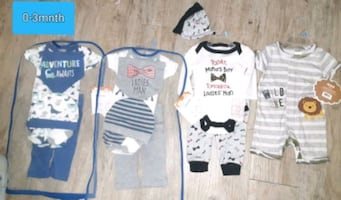 Baby Boys bundle size 0-3