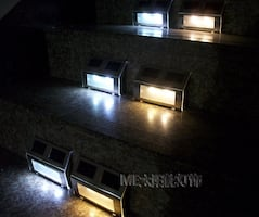 Stair lights with motion sensor