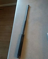 Telescoping steel baton en