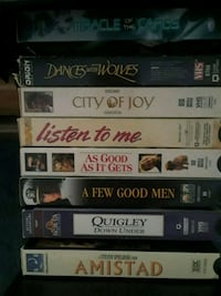 VHS movies  Spring, 77379