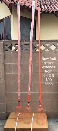 New fruit picker extends from 6 to 12 feet Santa Ana